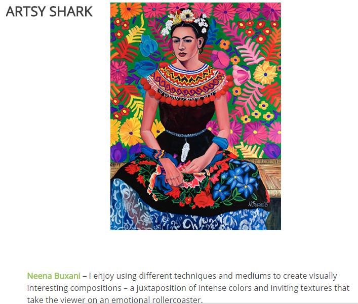 Neena Buxani - ARTSY SHARK