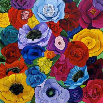 Papel de Flores